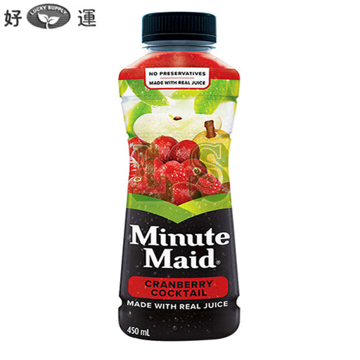 Minute Maid Cranberry Juice 12x450mL/CS  #2273