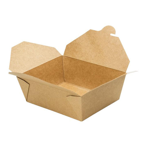 EcoMates K-8300, #8 Kraft Take-Out Box (300's) *