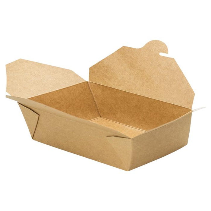 EcoMates K-9200, #9 Kraft Take-Out Box (200's) *