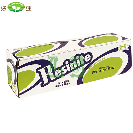"Resinite 17"" Plastic Food Wrap, (2500') #4537"