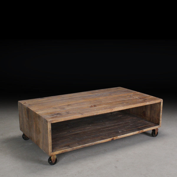 "Amsterdam Lara Reclaimed Wood Media Console/Bench (M 60"")"