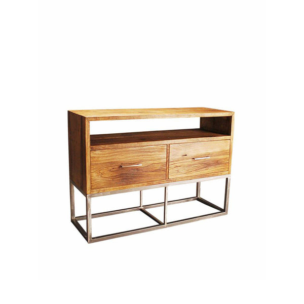 Austen Reclaimed Wood Two Drawer Media Console
