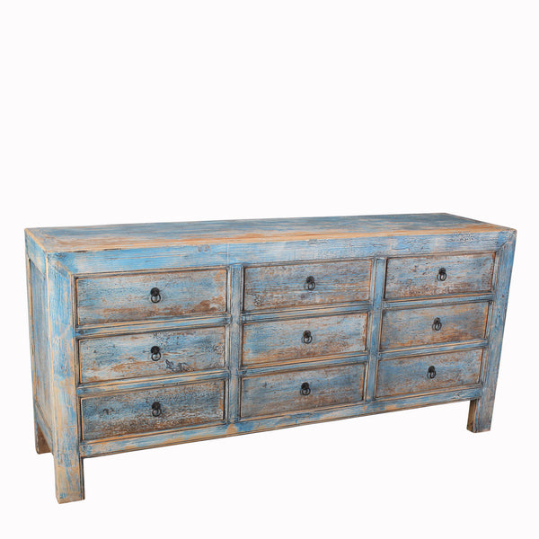 Hand Crafted Reclaimed Pine Chest of Drawers