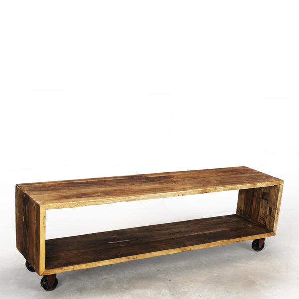Amsterdam Lara Reclaimed Wood Media Console/Bench