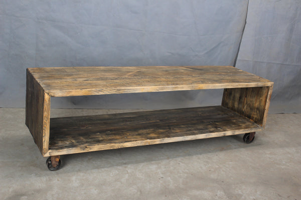 Amsterdam Pierson Reclaimed Wood Media Console