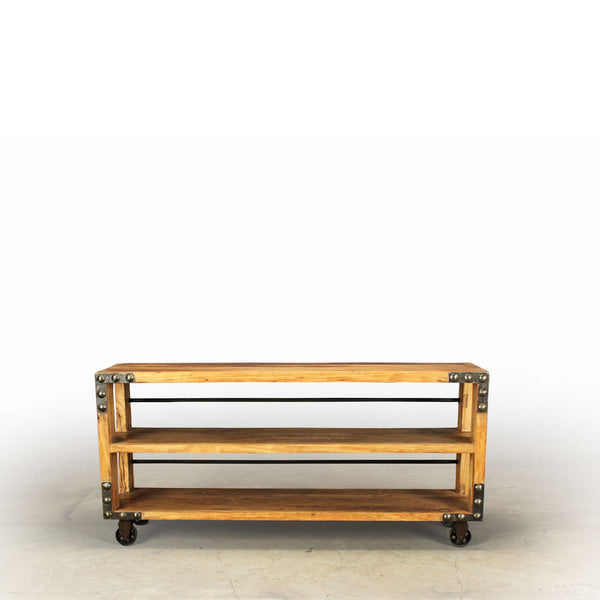 Amsterdam Renee Reclaimed Wood Media Console