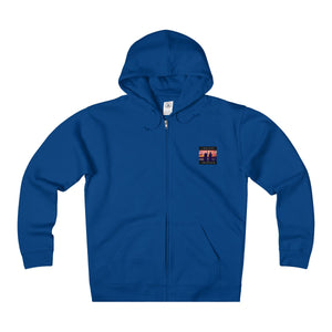 Comfort Crusade Unisex Heavyweight Fleece Zip Hoodie - The Comfort Crusade Shopping Lounge