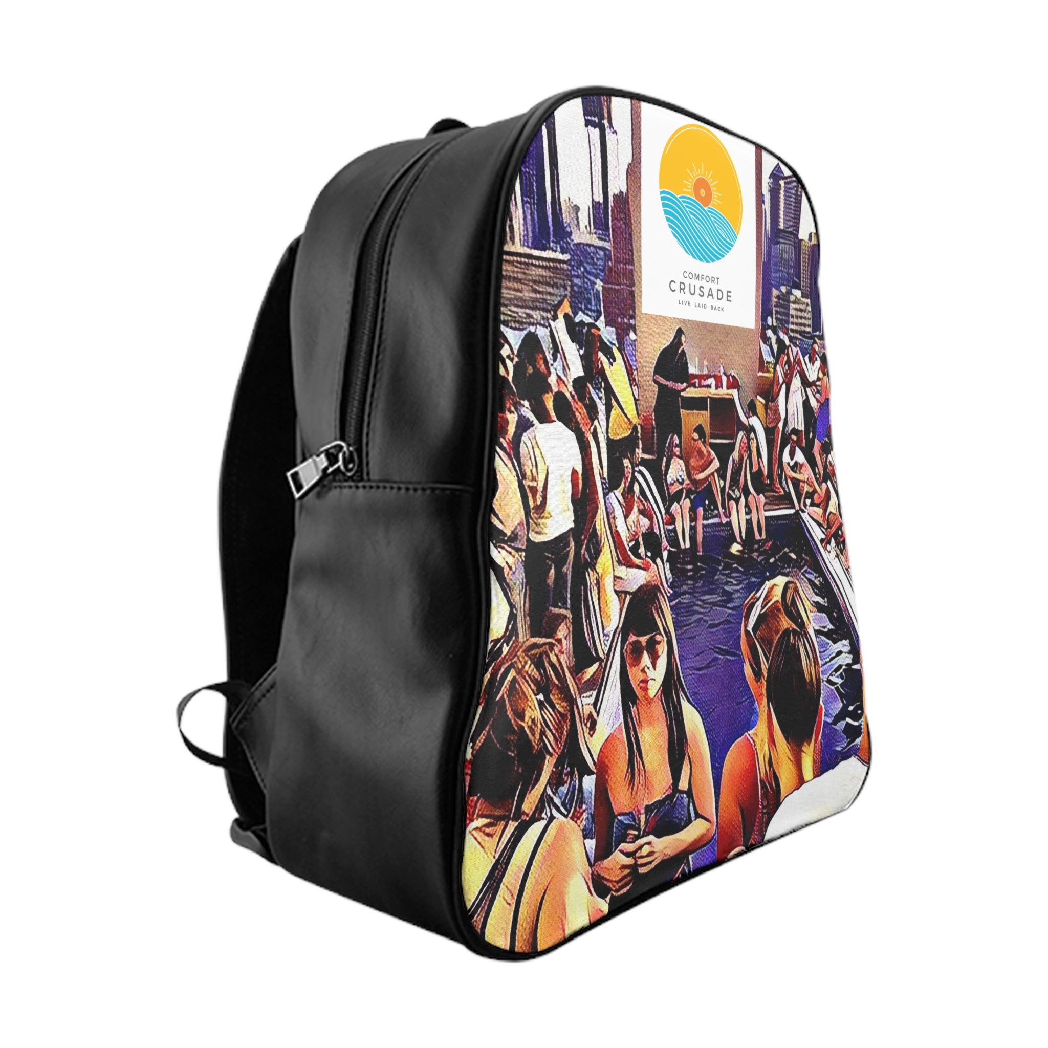 Comfort Crusade Rooftop Life Backpack - The Comfort Crusade Shopping Lounge