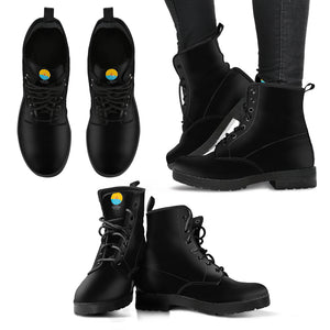 Leather Black & Comfy Women's Boots - The Comfort Crusade Shopping Lounge