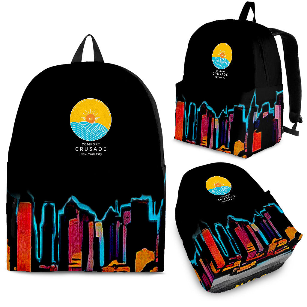 Night Sky NY Backpack - The Comfort Crusade Shopping Lounge