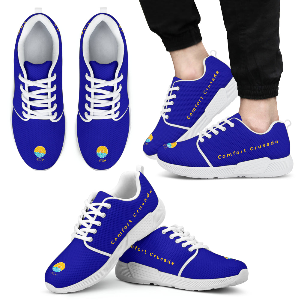 Men's Quick & Nimble Athletic Shoes by Comfort Crusade - The Comfort Crusade Shopping Lounge