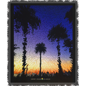 Comfort Crusade West Coast Woven Blanket - The Comfort Crusade Shopping Lounge