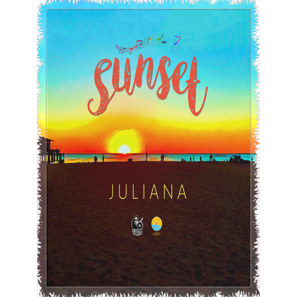 "The ""Sunset by Juliana"" Super Comfy Woven Blanket - The Comfort Crusade Shopping Lounge"