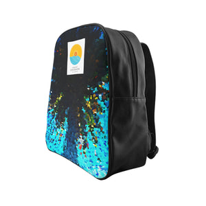 Pasadena Palm Lounge Backpack - The Comfort Crusade Shopping Lounge
