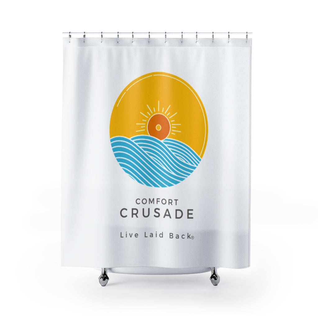 Comfort Crusade Comfy Shower Curtain - The Comfort Crusade Shopping Lounge