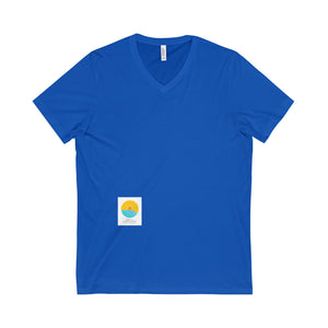 Comfort Crusade Unisex Short Sleeve V-Neck Tee - The Comfort Crusade Shopping Lounge