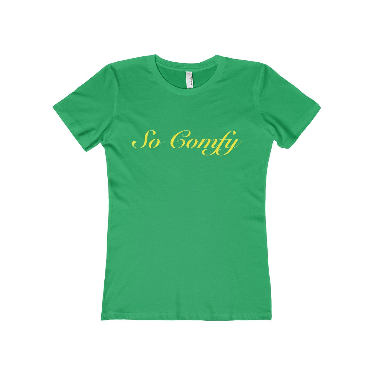 So Comfy Women's Trendy Crew Tee - The Comfort Crusade Shopping Lounge