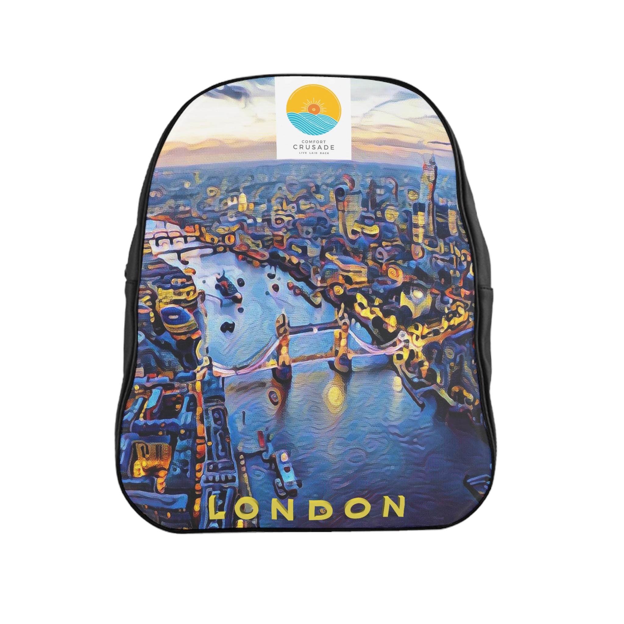 Comfort Crusade London Utility Backpack - The Comfort Crusade Shopping Lounge