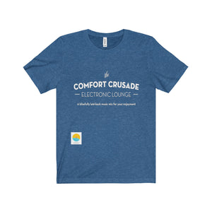 *Limited Edition* Comfort Crusade Vintage Short Sleeve Tee designed by Amon Focus of New York Said - The Comfort Crusade Shopping Lounge