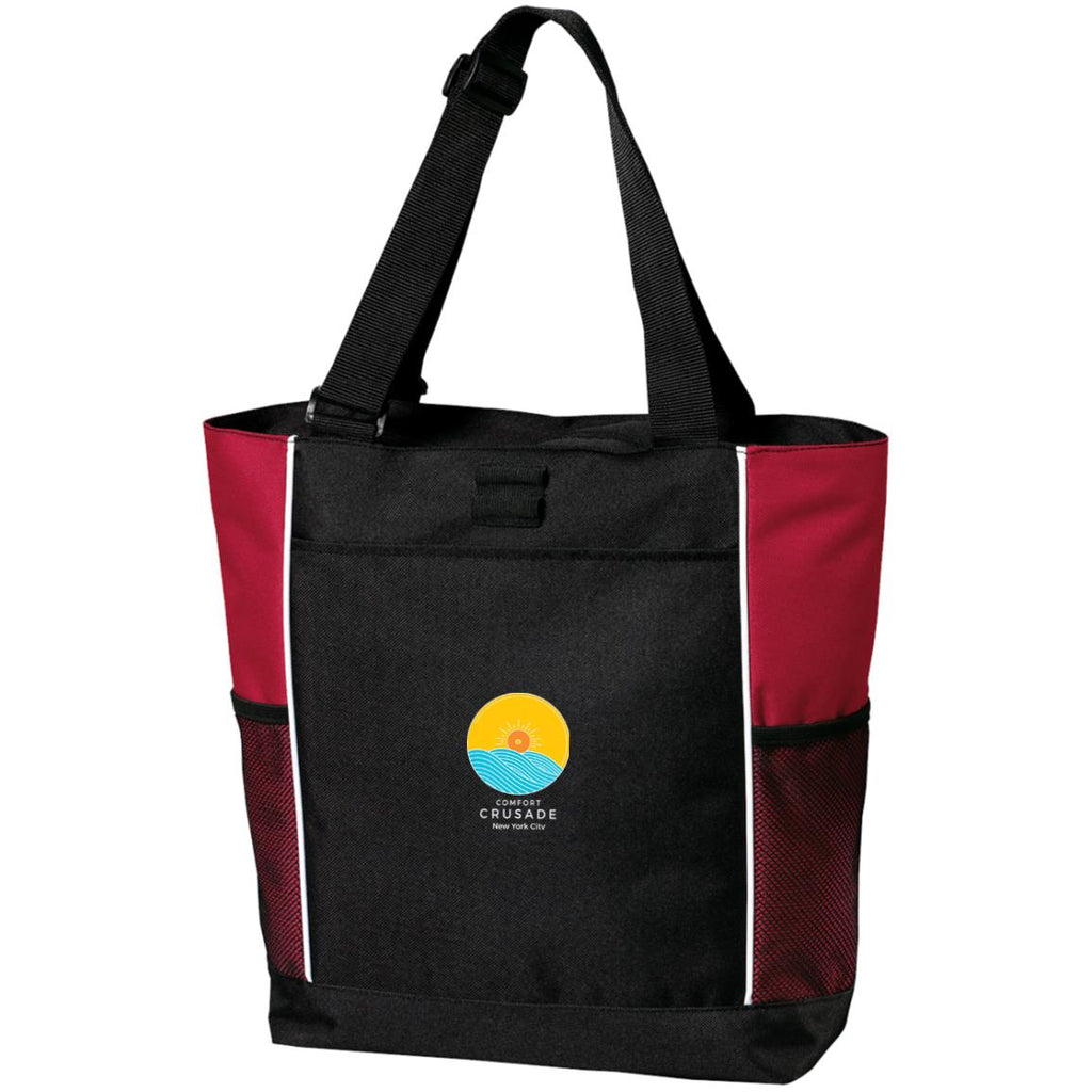 Comfy Zipper Tote Bag - The Comfort Crusade Shopping Lounge