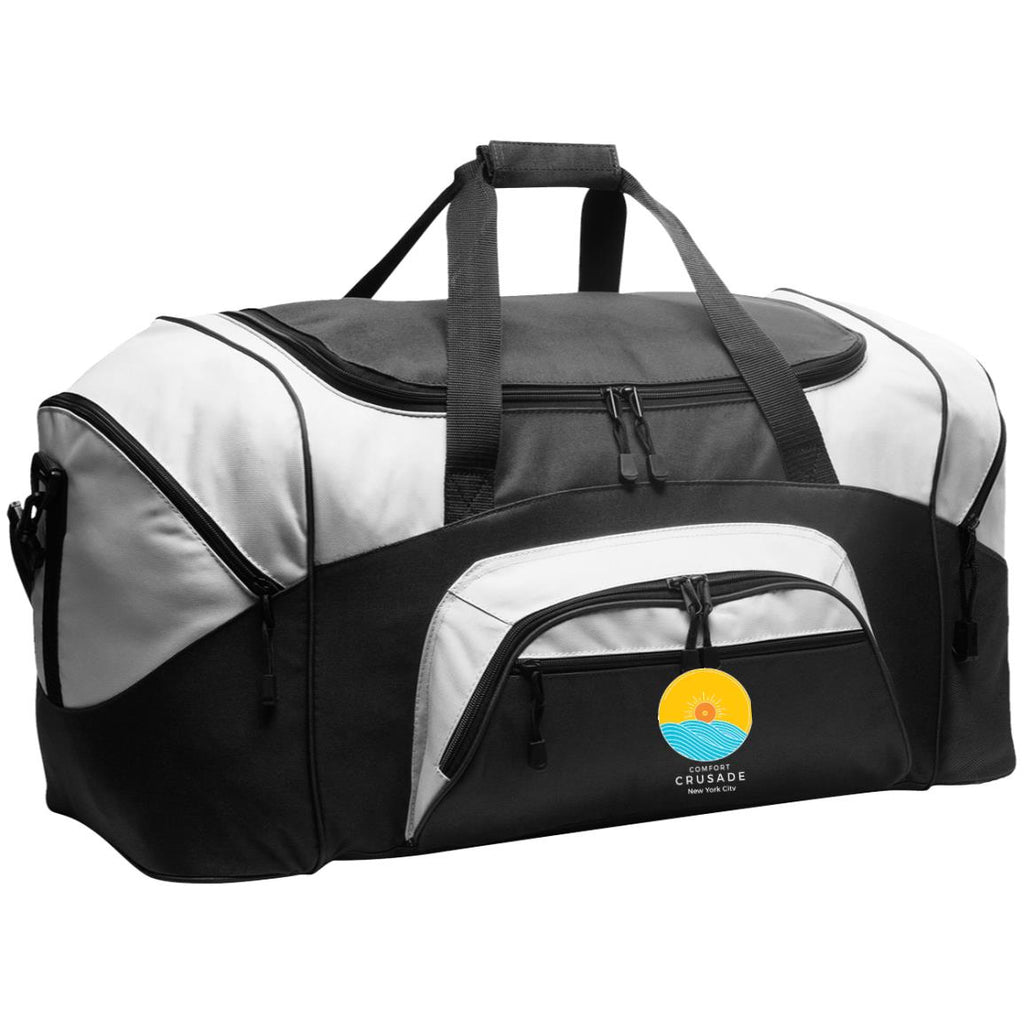Colorblock Sport Duffel - The Comfort Crusade Shopping Lounge