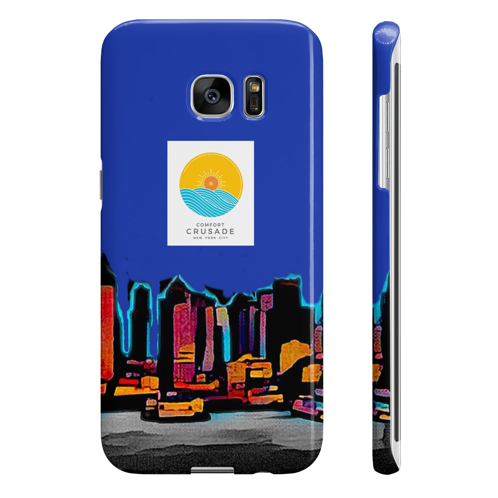 Comfort Crusade Sky NY Samsung Galaxy S7 Edge Slim Phone Case - The Comfort Crusade Shopping Lounge