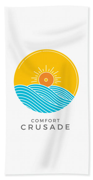Chill, Relax, Enjoy. Comfort Crusade - Bath Towel - The Comfort Crusade Shopping Lounge