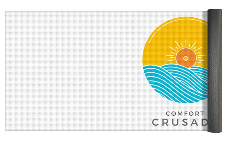 Chill, Relax, Enjoy. Comfort Crusade - Yoga Mat - The Comfort Crusade Shopping Lounge