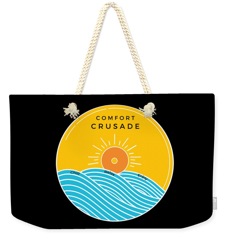 Comfort Crusade Logo - Weekender Tote Bag - The Comfort Crusade Shopping Lounge