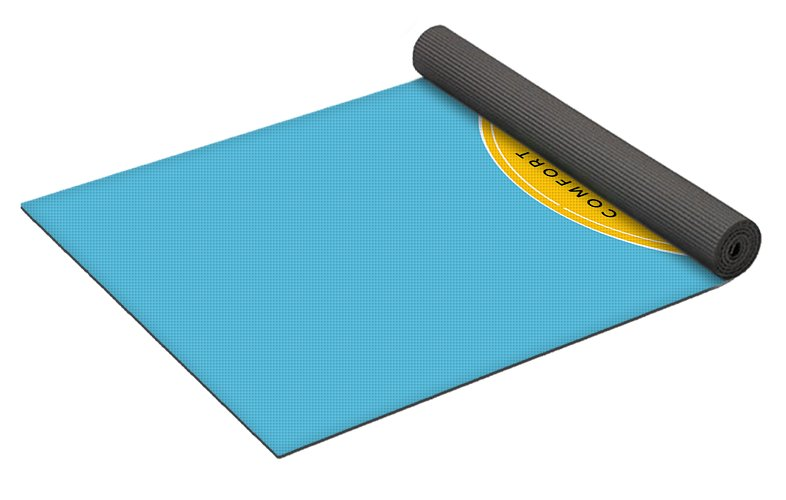 Comfort Crusade Logo - Yoga Mat - The Comfort Crusade Shopping Lounge