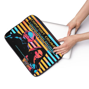 Comfort Crusade Lounge Music Escapes Laptop Sleeve - The Comfort Crusade Shopping Lounge