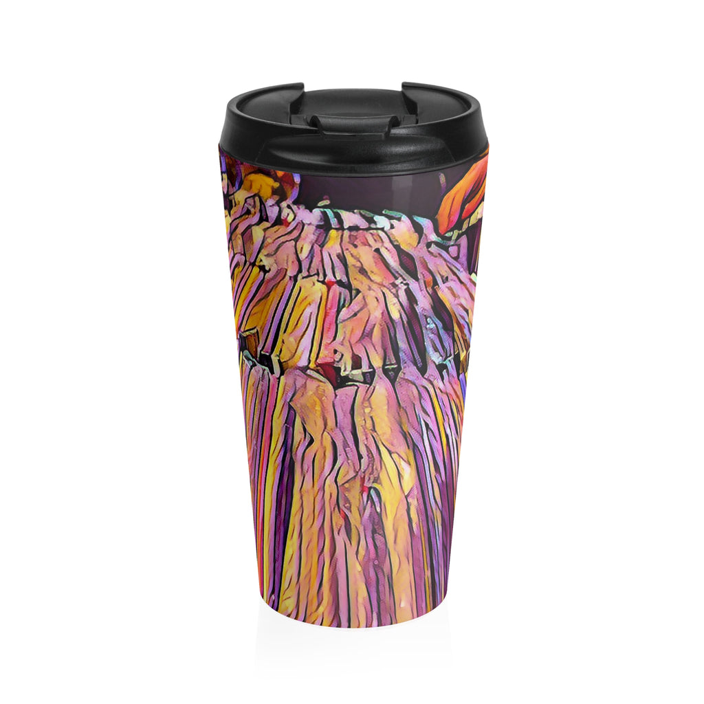 Comfort Crusade Stainless Steel Cratediggin' Travel Mug - The Comfort Crusade Shopping Lounge