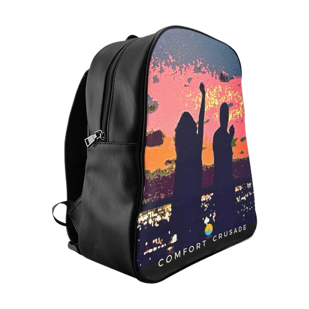 Comfort Crusade Rooftopper's Delight  Backpack by Greg Graham - The Comfort Crusade Shopping Lounge