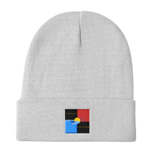 Comfort Crusade Block Knit Beanie - The Comfort Crusade Shopping Lounge
