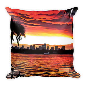 Comfort Crusade Three Oh! Five Series Sunset Pillow - The Comfort Crusade Shopping Lounge