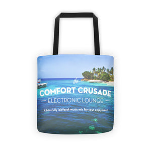 Comfort Crusade Tropical Escape Tote bag - The Comfort Crusade Shopping Lounge