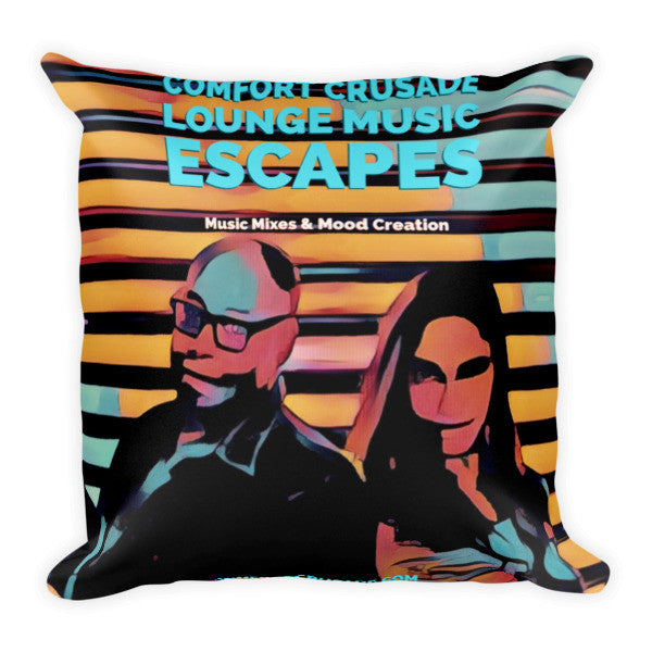 Comfort Crusade Escape Throw Pillow - The Comfort Crusade Shopping Lounge