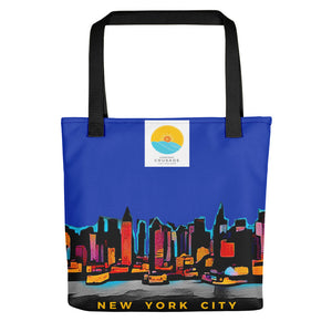 Comfort Crusade NY Sky Twilight Tote Bag - The Comfort Crusade Shopping Lounge
