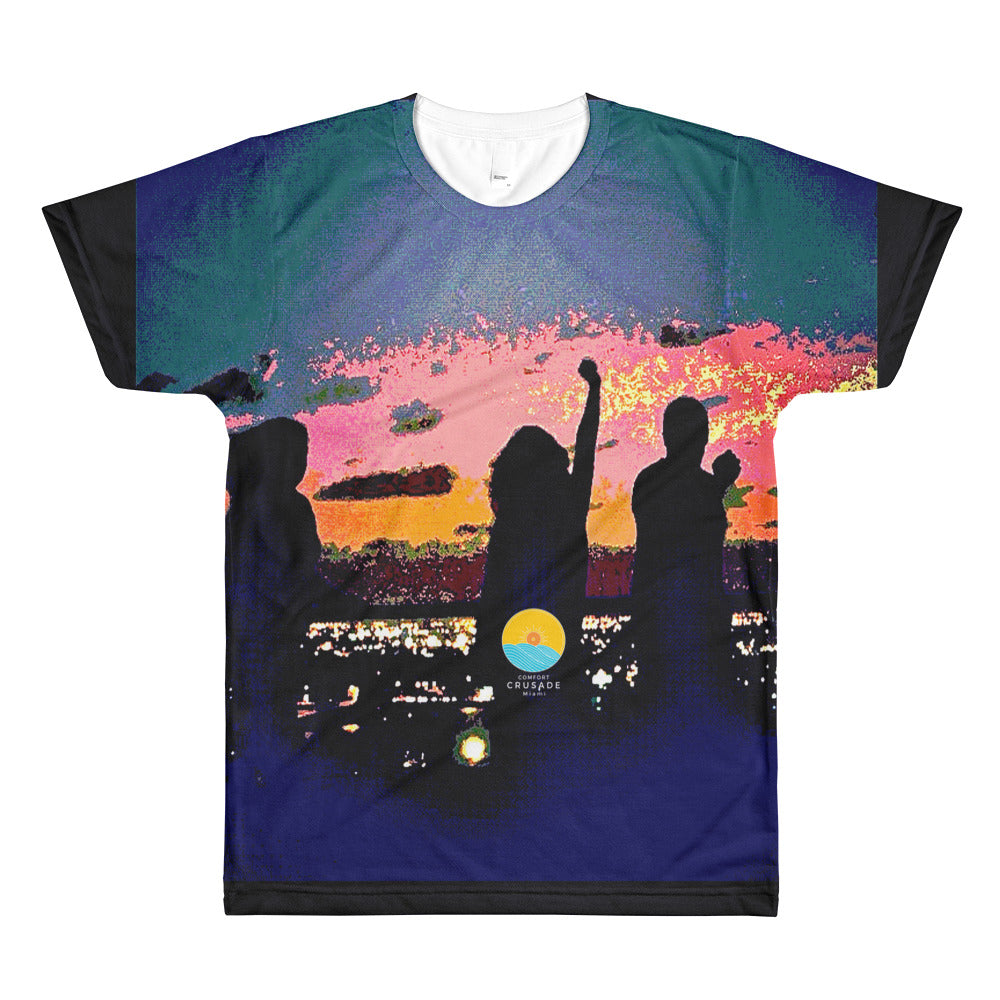 Comfort Crusade Rooftopper's Delight T-Shirt by Greg Graham - The Comfort Crusade Shopping Lounge