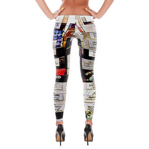 Comfort Crusade Vinyl Cut Leggings - The Comfort Crusade Shopping Lounge