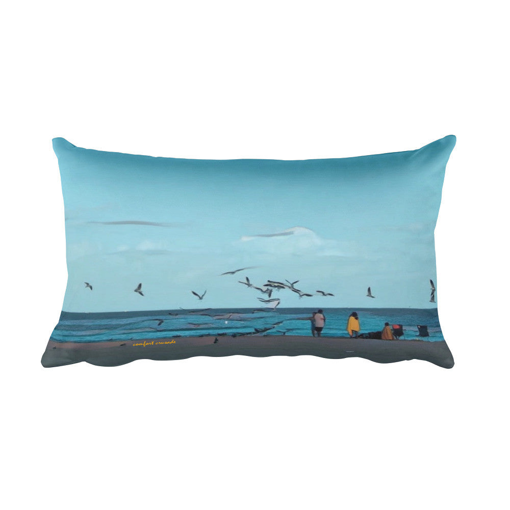 Comfort Crusade Pompano Rectangular Pillow - The Comfort Crusade Shopping Lounge
