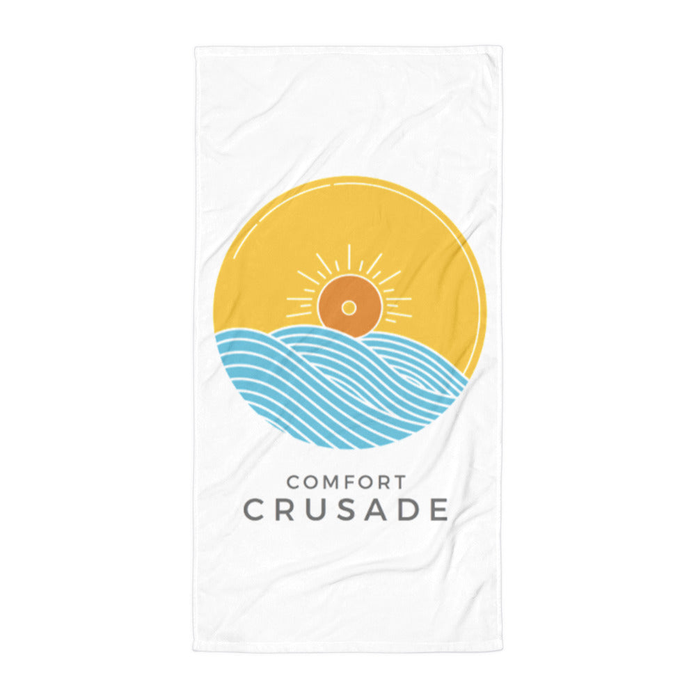 Comfort Crusade Super Comfy Bathroom Towel - The Comfort Crusade Shopping Lounge