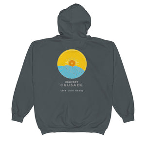 Comfort Crusade Unisex Zip Hoodie - The Comfort Crusade Shopping Lounge