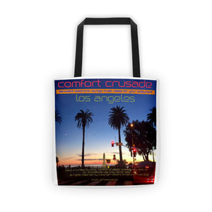 Comfort Crusade LA Tote bag by Monica Patel - The Comfort Crusade Shopping Lounge