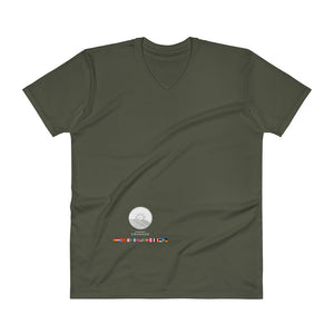 Comfort Crusade Countries V-Neck T-Shirt - The Comfort Crusade Shopping Lounge