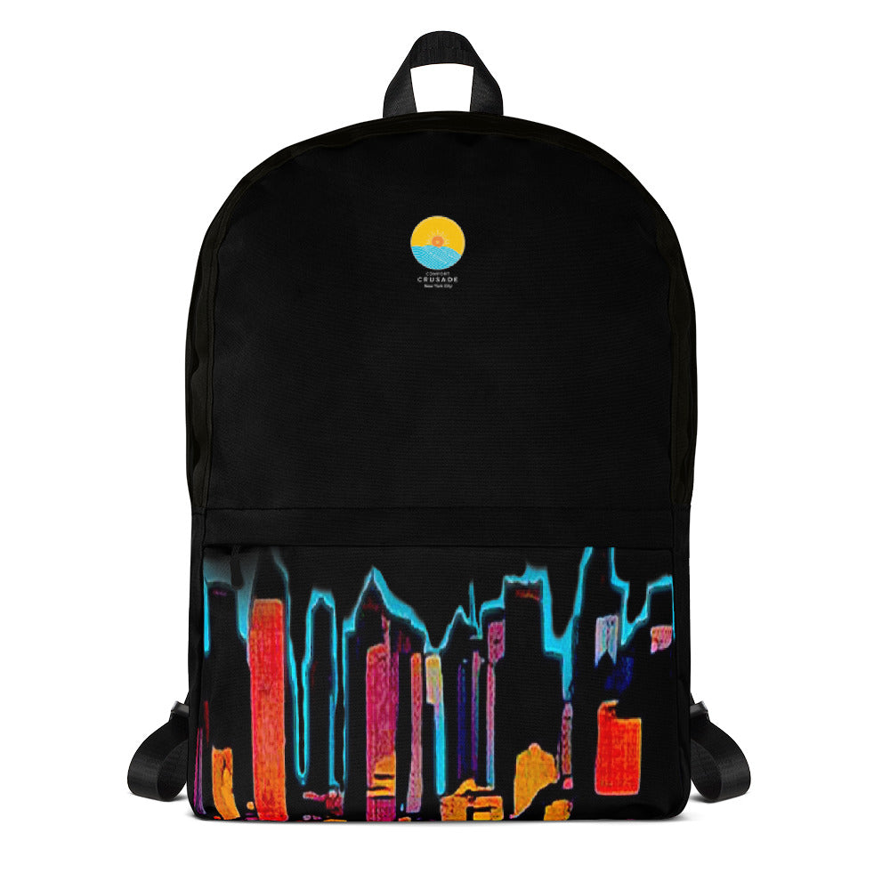 Comfort Crusade Night Sky NY Backpack - The Comfort Crusade Shopping Lounge