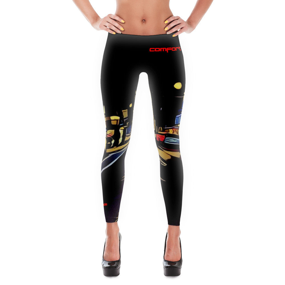 Comfort Crusade Neighborhood Hero(ine) Leggings - The Comfort Crusade Shopping Lounge