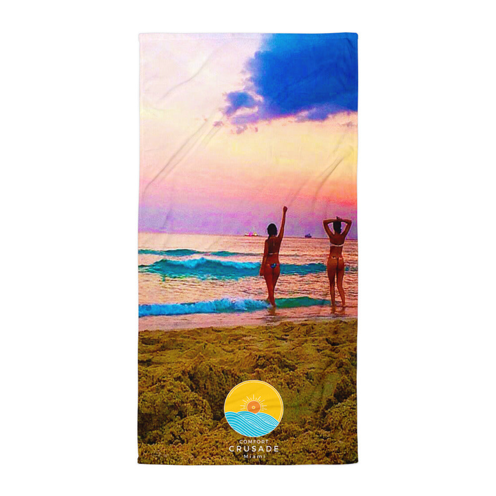 Comfort Crusade Beach Towel by Claunine - The Comfort Crusade Shopping Lounge