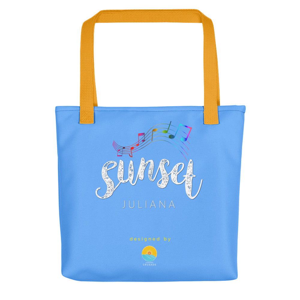 Sunset by Juliana Bahian Sky Tote Bag - The Comfort Crusade Shopping Lounge