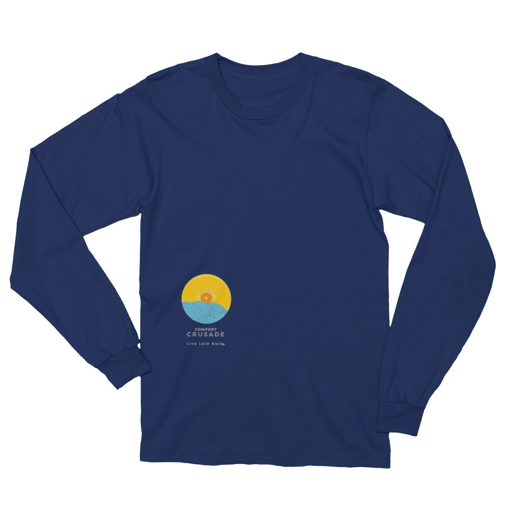 Comfort Crusade Fly Right Logo Long Sleeve T-Shirt - The Comfort Crusade Shopping Lounge